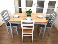 SHABBY CHIC TABLE +CHAIRS FREE DELIVERY ldn🇬🇧