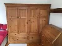 Double Wardrobe - Large - Solid pine