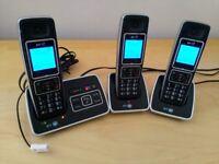 BT6500 Trio Landline Cordless 3 Phone Set