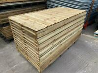 🌻 Various Sized Tanalised Garden Fence Panels