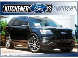2016 Ford Explorer Sport HEAT&COOL LEATHER | PANO ROOF | NAVI...