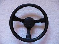 Ford RS Motorsport steering wheel (Escort MK3, MK4, Sierra, etc.) (Genuine OEM)