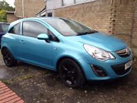 2012 VAUXHALL CORSA ACTIVE Hatchback 35.648 miles warranted, Manual, 1.2L Petrol