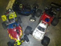 nitro rc buggy and truck
