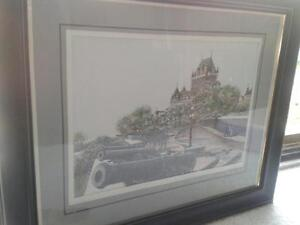 Two Paintings of Old Quebec Kitchener / Waterloo Kitchener Area image 1
