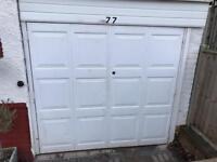 Metal garage doors + frame