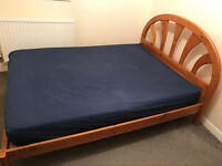 Double bed with mattress to go asap