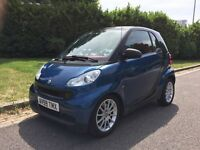 BARGAIN Smart fortwo coupe Passion CDi diesel 799cc Auto 39k miles Pioneer Sat Nav, 1 owner from new
