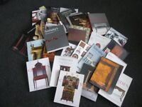 Job lot of auction catalogues Christies, Sotheby's etc mainly furniture 90's/00's
