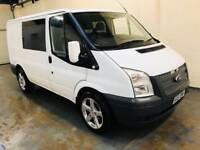 Ford transit 2.2 t260 fwd in immaculate condition 6 seater conversion mot till December 18