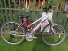 "GREAT LADIES MOUNTAIN BIKE,""REEBOK FAITH"".GREAT CONDITION,FULLY WORKING,READY TO RIDE AWAY ON."
