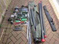 JOB LOT OF FISHING TACKLE - less than 2 years old