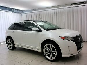 "2013 Ford Edge SPORT AWD w/ NAV, LEATHER, 22"""" ALLOY & MORE!"