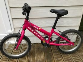 Girls Pink Ridgeback Melody Bike