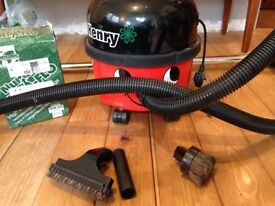 Henry Hoover/ Numatic with 6 bags