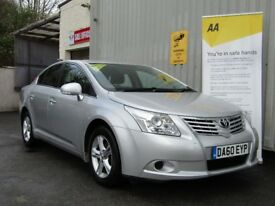 Toyota Avensis 2.0 D-4D T2 4dr, 1 Owner From New + Fsh