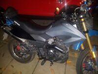Tx 125 swap for 125 motobike