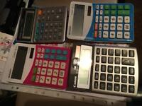 Collection of calculators