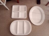 Three serving dishes for Christmas!
