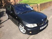 2005 (55) Bmw 120D, Sport, FSH, Fully Loaded. Nav - leather. DVD-I DRIVE-163 bhp