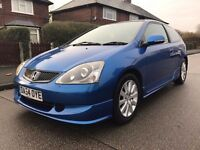 HONDA CIVIC 1.6 TYPE S NICE AND CLEAN CAR LONG MOT
