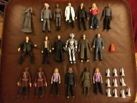 Dr Who Collection - Figures, annuals, magazines, masks etc