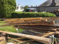 4 x 4 timber free