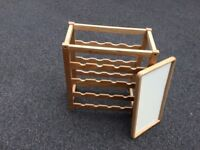 Wine rack and tray
