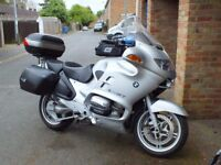 BMW R 1150 RT with many extras.