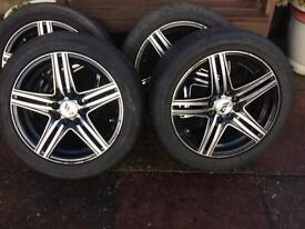 """WR Ripspeed 15"""" Multifit Alloy Wheels - 4 x 100 & 4 x 108"""