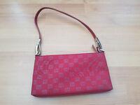 DNKY Handbag Red with Detachable Strap and DNKY Design