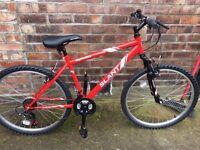 """Men's 17"""" frame Apollo Slant Bicycle"""