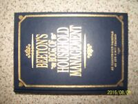 BEETON,S BOOK OF HOUSEHOLD MANAGEMENT AN ILLUSTRATED FACSIMLE OF THE FIRST EDITION PUBLISHED 1994