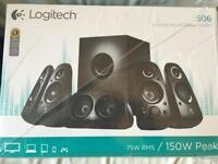 Logitech 5.1 surround speaker system (brand new)