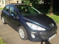 PEUGEOT 308 1.6 HDi 90 S 5dr (blue) 2009