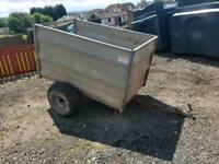 Quad atv tfm 5x3 livestock trailer farm livestock tractor