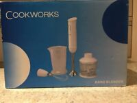 Cookworks Hand Blender with Accessories