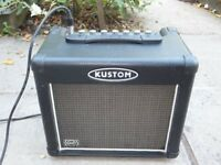 Kustom Dart 10FX Guitar Combo Amp / Amplifier with digital reverb and delay. 15 Watt