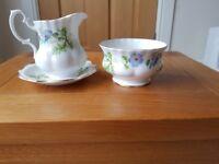 Vintage style Afternoon tea crockery- various.