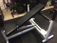 Bench and squat rack 500 kgs of weights and bars
