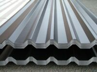 BOX PROFILE/CORRUGATED ROOFING AND WALL SHEETS, ANY COlOUR AND ANY LENGTH, UK DELIVERY