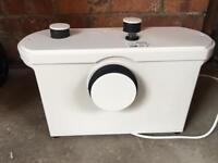 VORTIGERN MACERATOR 3 WAY SANITARY WASTE PUMP FOR WC TOILET SINK BASIN
