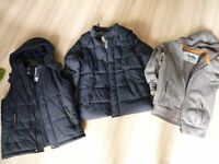 Marks&Spencer Boys Jacket, Vest and Jumper 11-12years