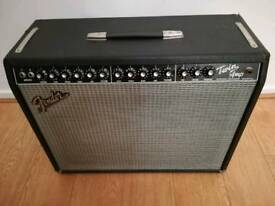 1997 Fender Twin with flight case