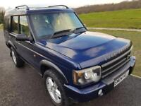 Land Rover Discovery 2 2.5 TD5 Landmark 5dr (7 Seats),1 Owner,LEATHER Seats