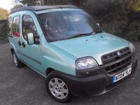 2004 Fiat Doblo campervan