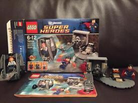Lego Superman Black Zero Escape