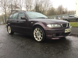 2002 BMW 320D SE automatic with sport extras