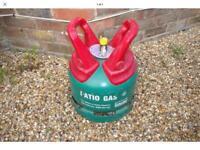 Calor propane 5kg gas bottle approximately half full £25