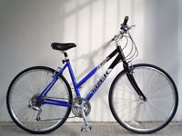 "(2070) 700c 20"" Lightweight Aluminium TREK ADULT HYBRID BIKE BICYCLE; Height:173-193 cm(5'8"" - 6'4"")"
